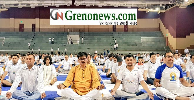 YOGA DAY GREATER NOIDA