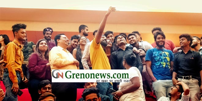 Induction program in Galgotias - GRENONEWS