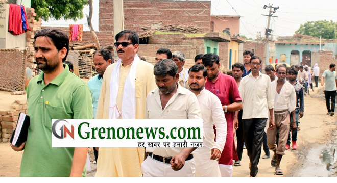SERVICE FOR PUBLIC IS MY DUTY, SAID JEWAR MLA DHIRENDRA SINGH- GRENONEWS