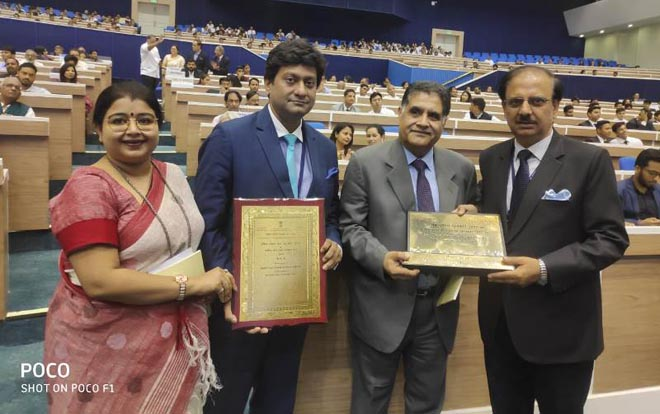NATIONAL TOURISM AWARD TO INDIA EXPO CENTRE & MART FOR BEST STANDALONE CONVENTION CENTRE