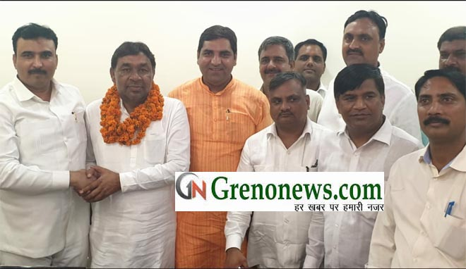 SAMAJWADI PARTY LEADER RAVINDER BHATI JOINED BSP- GRENONEWS