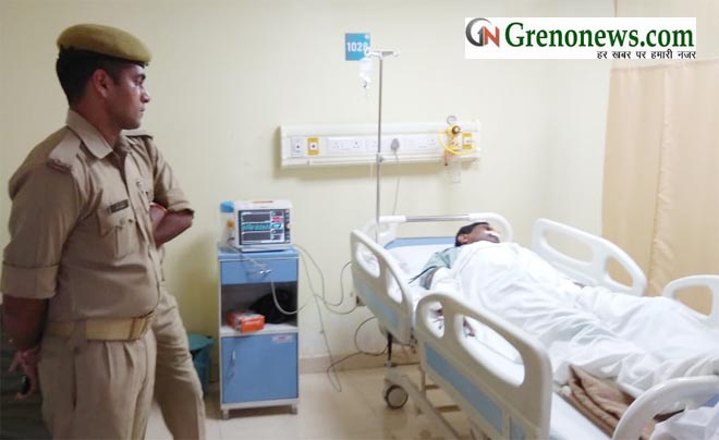 PAC JAWAN INJURED IN GUN SHOT IN GREATER NOIDA - GRENONEWS