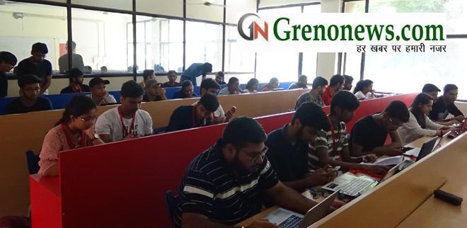 Galgotias University hosted the NASA Space Apps Challenge pre-qualifier hackathon at Galgotias University - GRENONEWS