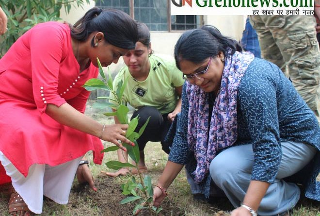 PLANTATION DRIVE BY GALGOTIA COLLEGE