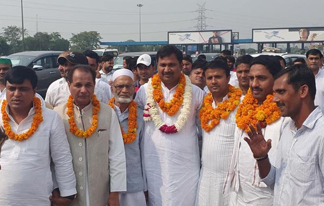 MANOJ CHAUDHARY APPOINTED AS CONGRESS PARTY DISTRICT PRESIDENT GAUTAM BUDDH NAGAR- GRENONEWS