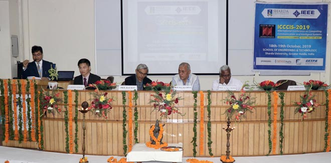 SEMINAR HELD IN SHARDA UNIVERSITY ON COMPUTING, TELECOMMUNICATION AND INTELLIGENCE - GRENONEWS