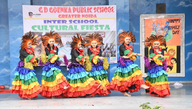 AAHVAAN- THE INTER SCHOOL CULTURAL FIESTA IN GD GOENKA PUBLIC SCHOOL GREATER NOIDA - GRENONEWS
