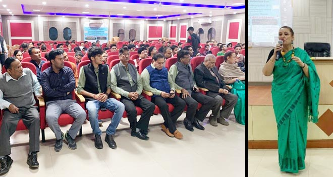 SEMINAR ON THALASSEMIA HELD IN IEC COLLEGE KNOWLEDGE PARK GREATER NOIDA - GRENONEWS