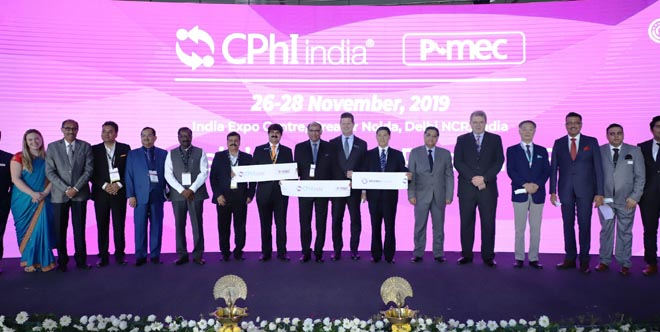 The 13th edition of CPhI & P-MEC commenced with an opening ceremony and key dignitaries inaugurated the event- GRENONEWS