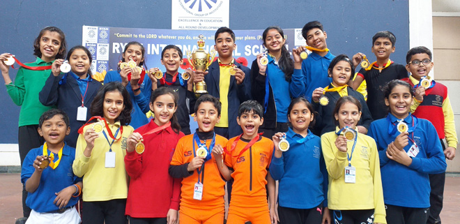 Ryan Greater Noida Won Delhi NCR Inter School Skating Championship- GRENONEWS