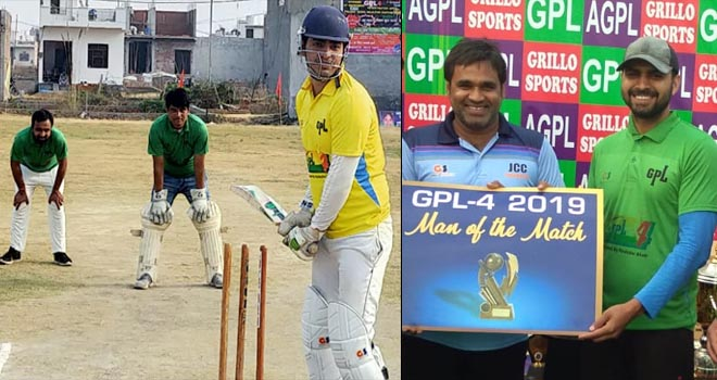 GREATER NOIDA PRESS CLUB WON GPL 4 CRICKET MATCH BY NOIDA MEDIA CLUB- GRENONEWS