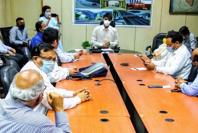INDIA INDUSTRY ASSOCIATION (IIA) MEETING WITH DM GB NAGAR