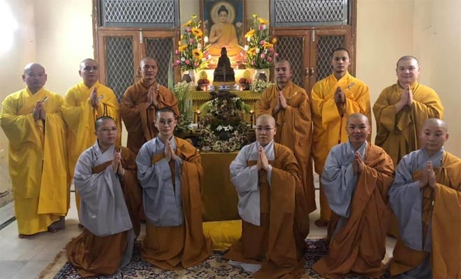 BUDH PURNIMA IN GBU CELEBRATED