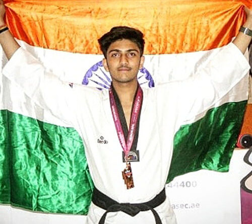 atiul raghav , MMA player turned into a Taekwondo athlete and achieved amazing things in a short span.